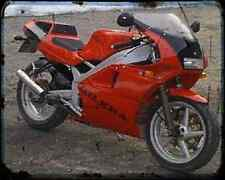 Gilera Sp 02 125 90 3 A4 Photo Print Motorbike Vintage Aged