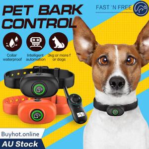 Pet Dog Anti Bark Shock Training Remote Control Obedience E-Collar Anti Barking