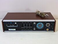 Electrophonic T600 8-Track Player, AM-FM Stereo Receiver, Reconditioned