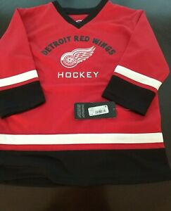 Detroit Red Wings (Toddler 3T) NHL Hockey Jersey - NHL Official Merchandise NWT