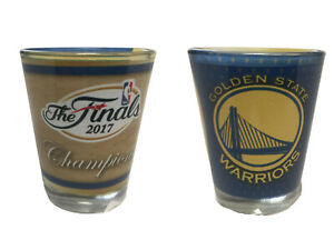 Golden State Warriors 2017  Finals Champions Sublimated 2 oz Shot Glass