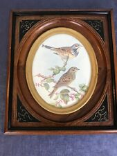☆ American ~ Renaissance East Lake 1860-99 Deep Well WALNUT PICTURE FRAME Oval