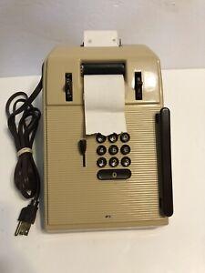 Vintage Victor Bakelite Calculator Works Good Condition