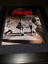 Phish Character Zero Rare Original Radio Promo Poster Ad Framed!