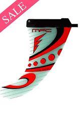 NUOVO MFC K-ONE G-10 Windsurf Pinna Power Box 23 cm RRP £ 99 RISPARMIA £ £ £