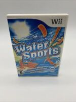 Water Sports (Nintendo Wii, 2009) with Manual Tested Working Preowned