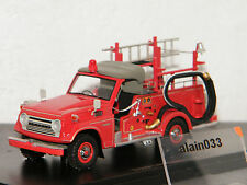TOYOTA LAND CRUISER FJ56 F Fire engine Japan AUTOCULT 1/43 Ref 12003