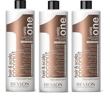 uniq one All in One Conditioning Coconut Shampoo 1000 ml Pack of 3