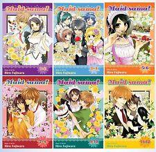 Maid-Sama! Series English Manga Collection Books 1-12 in 6 VOLUMES BRAND NEW!