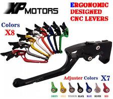 Ergonomic CNC Adjustable Brake Clutch Lever Yamaha YZF-R6 05-14 YZF-R1 04-08 R6S
