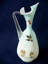 Hand Blown Glass Victorian Opaline