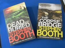 STEPHEN BOOTH:  THE CORPSE BRIDGE AND  DEAD AND BURIED (2 VOLS):  NEW PAPERBACKS