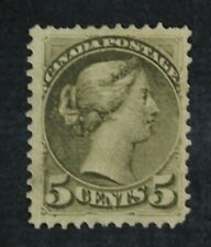 CKStamps: Canada Stamps Collection Scott#38 Victoria Unused NG