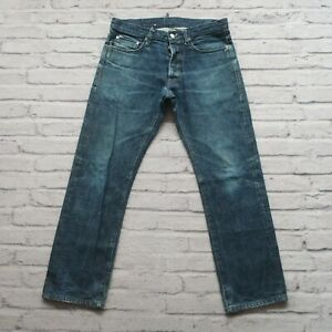 Helmut Lang Selvedge Denim Jeans 32 Medium Wash Distressed Vtg