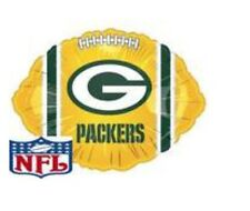"""Green Bay Packers Football 18"""" Balloon Birthday Party Decorations"""