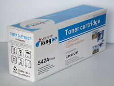 1PK Compatible Toner for HP CB542A fits LaserJet CP 1215 1515N 1518NI CM1312MFP