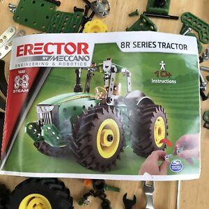John Deere 8R Series Tractor Erector Meccano #18302 Model Kit Replacement Parts