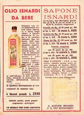 CARTOLINA PUBBLICITARIA ISNARDI IMPERIA ONEGLIA ANNI '50  C5-451