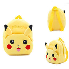 Lovely Kids Bag   Pikachu Yellow Backpack Mini Shoulders Schoolbag Gift