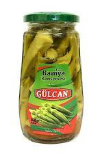 Gülcan Okraschoten Okra im Glas Fertiggericht - Bamya Konserve 550 g Netto
