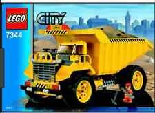 LEGO set 7344 CAT RIBALTABILE -LEGO CITY MEZZO DA CANTIERE- NO VINTAGE LEGOLAND