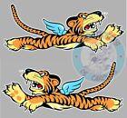 2 STICKERS TIGRES VOLANTS P40 WW2 FLYING TIGERS LEFT & RIGHT FA103+FA104