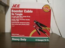ACE HEAVY DUTY 8 GAUGE/16 FT. BOOSTER CABLES