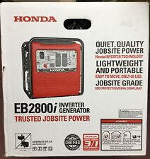 Honda EB2800i Inverter Generator NEW