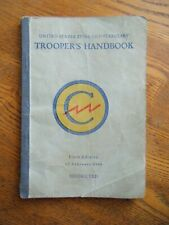 U.S. Zone Constabulary Trooper's Handbook dated 1946 - Original