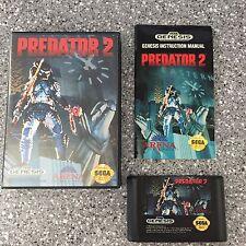 Predator 2 (Sega Genesis, 1992) Complete in box CIB