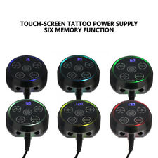 2018 Mini Black Tattoo Atom Power Supply  Touch Pad for Tattoo Machine ZY