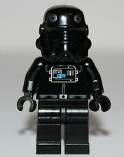 Lego Star Wars TIE Interceptor Pilot Black Head Stormtrooper Minifig NEW