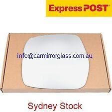 LEFT PASSENGER SIDE MIRROR GLASS FOR TOYOTA LANDCRUISER 80 SERIES 1990 - 1998