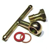 Weber 40 45 48 DCOE Fuel Inlet Banjo Bolt screw + T banjo fuel tee union set