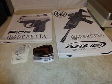 LOT OF 81 pico Beretta, Browning, beretta avx100, urban holsters decals stickers