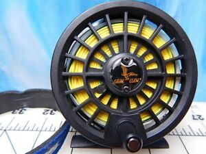 Vintage Fly Reel EAGLE CLAW 3080 graphite floating line fishing lure trout Pat.