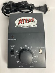 Vintage ATLAS #311 RAILPOWER  RAILROAD HOBBY TRANSFORMER BLACK POWER PACK