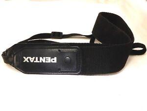 "Pentax Camera Strap Black-White Logo 1.5"" Wide OEM Genuine"