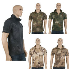 Unbranded Polyester T-Shirts Army for Men