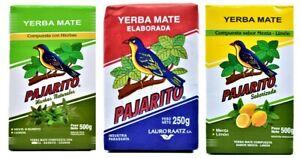 Pajarito Yerba Mate Tea SAMPLER Pack - 3 x 150g each - FAST FREE SHIPPING