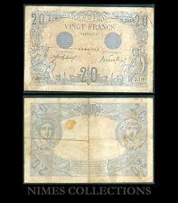 BILLET DE 20 FRANCS  BLEU  DATE 28-OCTOBRE-1912 ETAT: TB + N° O.2919
