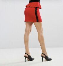 Millie Mackintosh manningford rojo Peplum Mini Falda 10