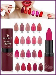 Golden Rose Velvet Matte Lipstick Soft with Vitamin E,Best Price Sexy Lipstick