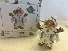 "Charming Tails ""Wishing You A Blizzard Of Blessings"" Dean Griff Nib Ornament"