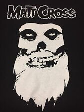 Matt Cross T-Shirt Wrestling WWF WWE ECW Medium Misfits Beard Skull  Hardcore