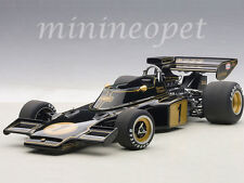 AUTOart 87327 LOTUS 72E 1973 EMERSON FITTIPALDI #1 1/18 MODEL CAR BLACK