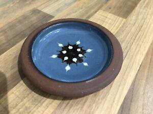 Vintage Tenby Pottery Blue Pin Dish Bowl Studio Pottery