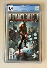 Ultimate Fallout #4 Spider-Man No More CGC 9.4 First Appearance Miles Morales