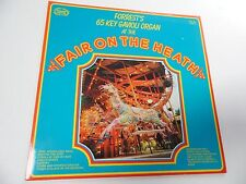 "FORREST'S 65 KEY GAVIOLI ORGAN. At the fair on the heath. 12"" 33rpm LP Record ."