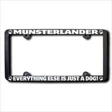 Munsterlander Everything Else Is Just A Dog Frame w/Reflective Text